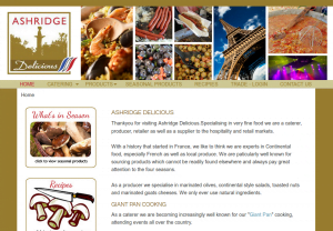 Ashridge Delicious Original Website