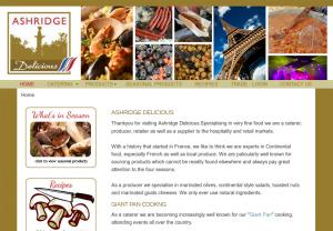 Ashridge Delicious Original Website