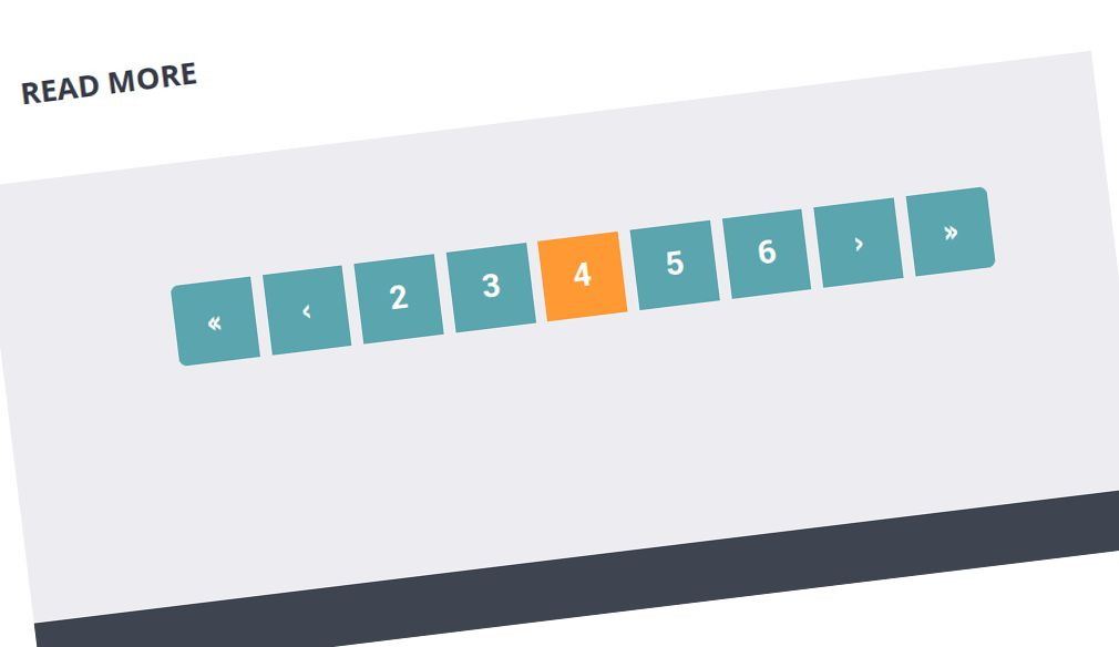 custom html pagination