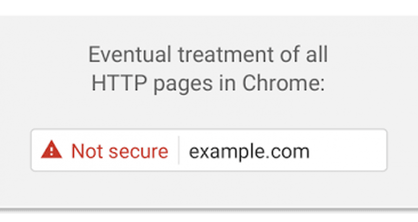 Google Chrome and insecure websites